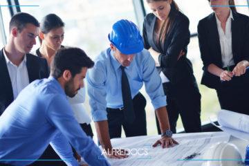 personal administrativo en el control de obra
